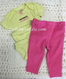 Carter's Girls 2 pc. Set - Newborn - Mommy's Sweetheart