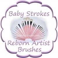 """Baby Strokes""<br>Doll Artist Brushes"