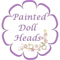 Lightly Painted Doll Heads