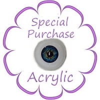 Special Purchase<BR>Acrylic Eyes $1.99-$3.99
