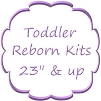 "23"" & Up Toddler<BR>Reborn Kits"